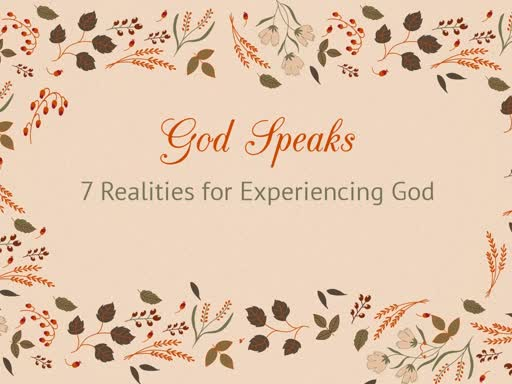 Reality 4  -  God Speaks