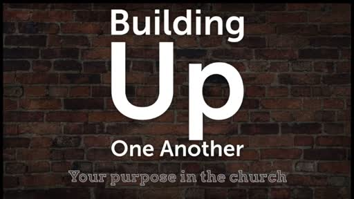 Building Up One Another (Sunday School) Lesson 8 - Part 1 of 2