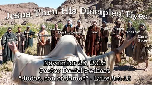 Jesus Thru His Disciples' Eyes