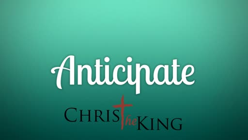 anticipate (session 6)