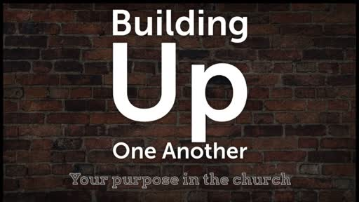 Building Up One Another (Sunday School) Lesson 8 - Part 2 of 2