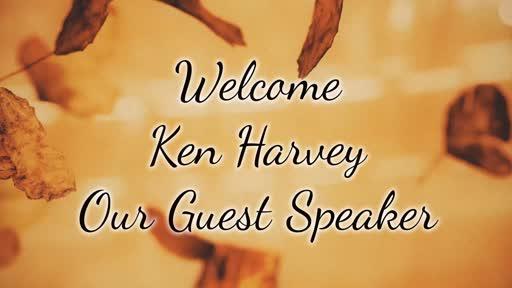 Guest Speaker Ken Harvey