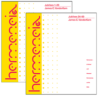 Hermeneia: Jubilees: A Commentary in Two Volumes