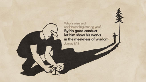 James 3:13 verse of the day image