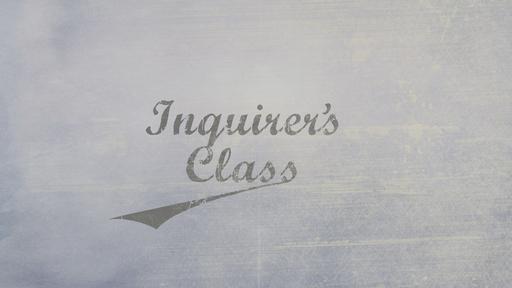 Inquirer's Class 5 11-20-18