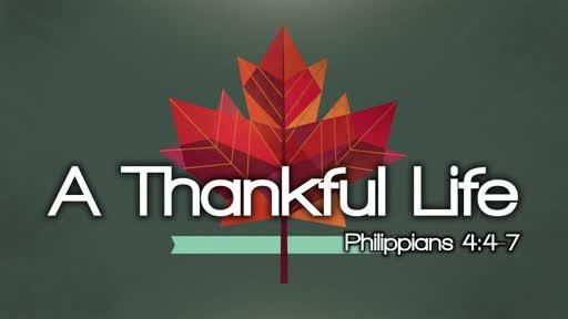 A Thankful Life