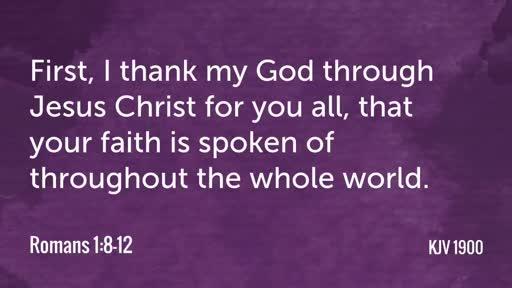 The Apostle's Prayer