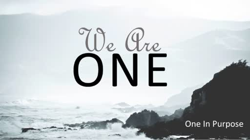 We are One in Purpose