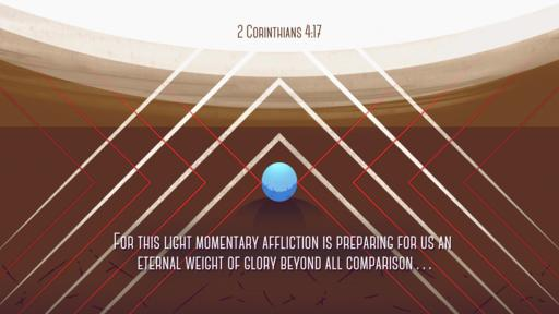 2 Corinthians 4:17 verse of the day image