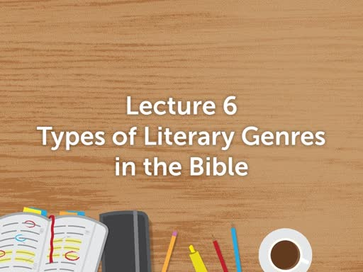 The gospel presentation: Lecture 6