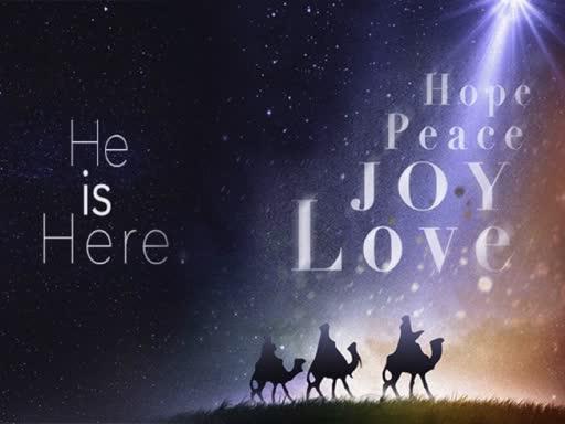 December 2, 2018 - Isaiah 9:1-7 (He is Here: Hope)
