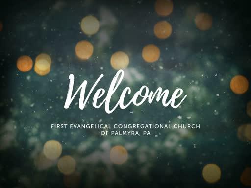 Sunday Worship December 2, 2018