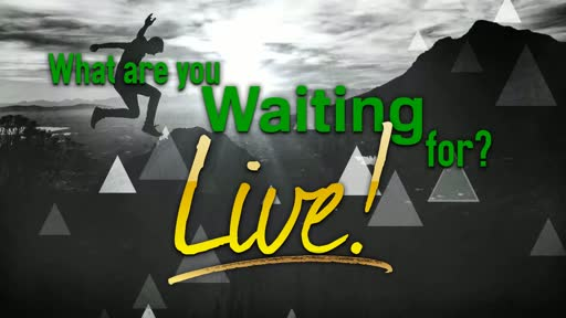 What Are You Waiting For? Live!