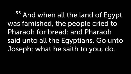 Joseph: A Picture of Jesus