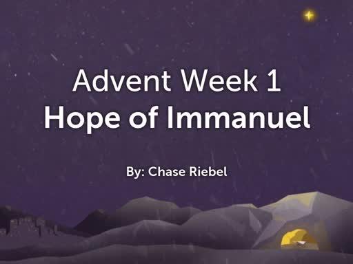 Advent Week