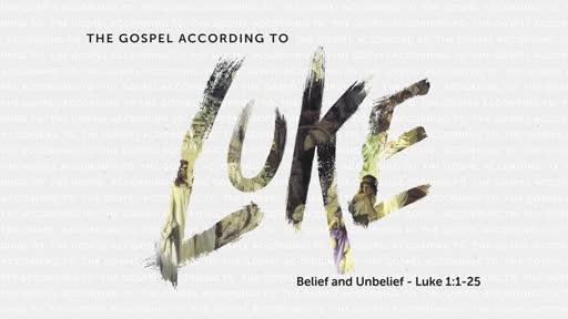 The Gospel of Luke - Week 1