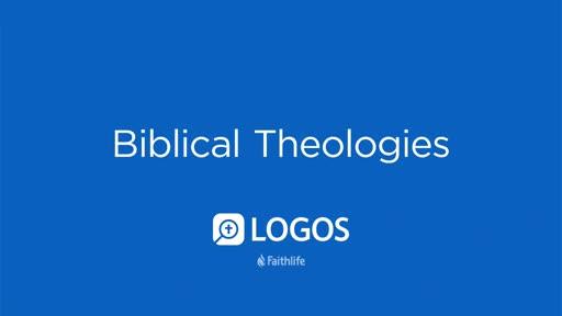 Biblical Theologies Section