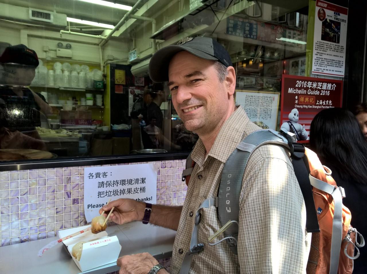 Malcolm in Hong Kong