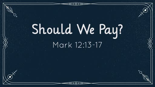 Should We Pay?