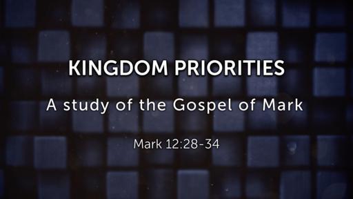 Kingdom Priority - 11/25/2018