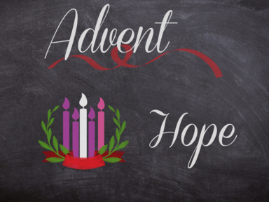 Advent Week 1: Hope