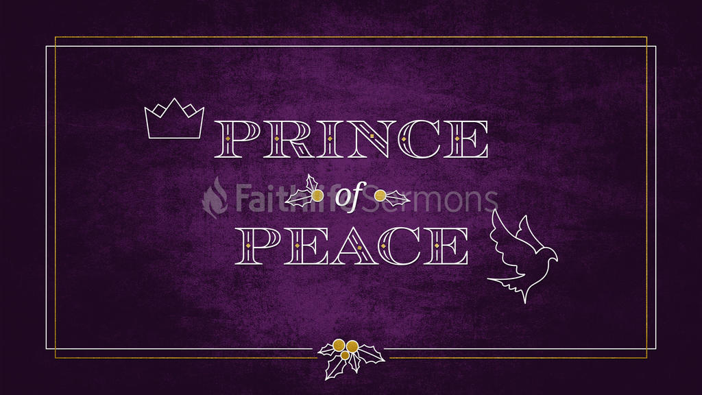 Prince Of Peace 16x9 preview