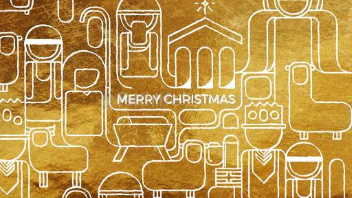 Golden Nativity