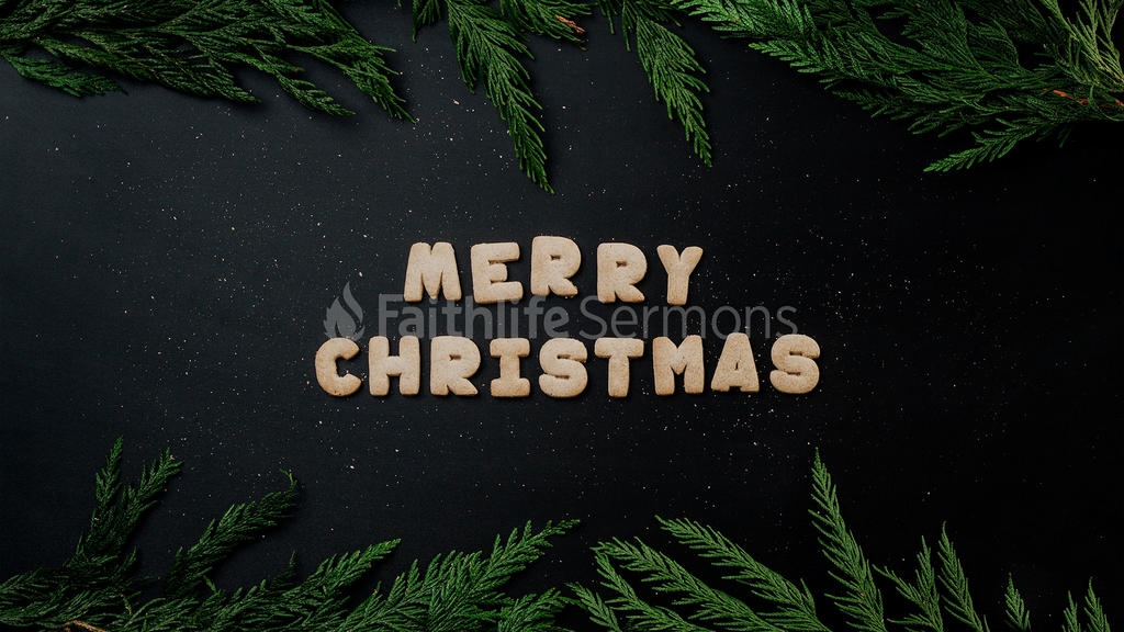 Merry Christmas Cookie large preview
