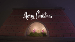 Merry Christmas 16x9 PowerPoint image