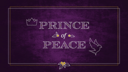 Prince Of Peace 16x9 PowerPoint image