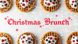 Christmas Brunch  PowerPoint image 1
