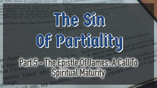 The Sin Of Partiality