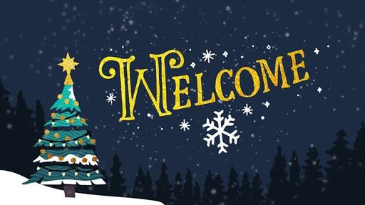 Merry Christmas Night - Welcome