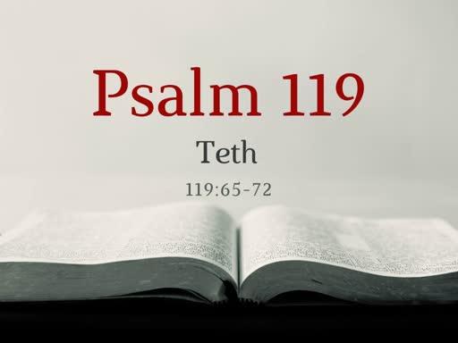 Psalm 119 (8)