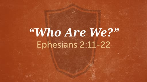 """""""Who Are We?"""""""