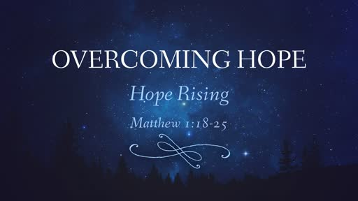 Overcoming Hope
