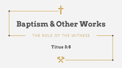 292 - Baptism & Other Works - The Witness