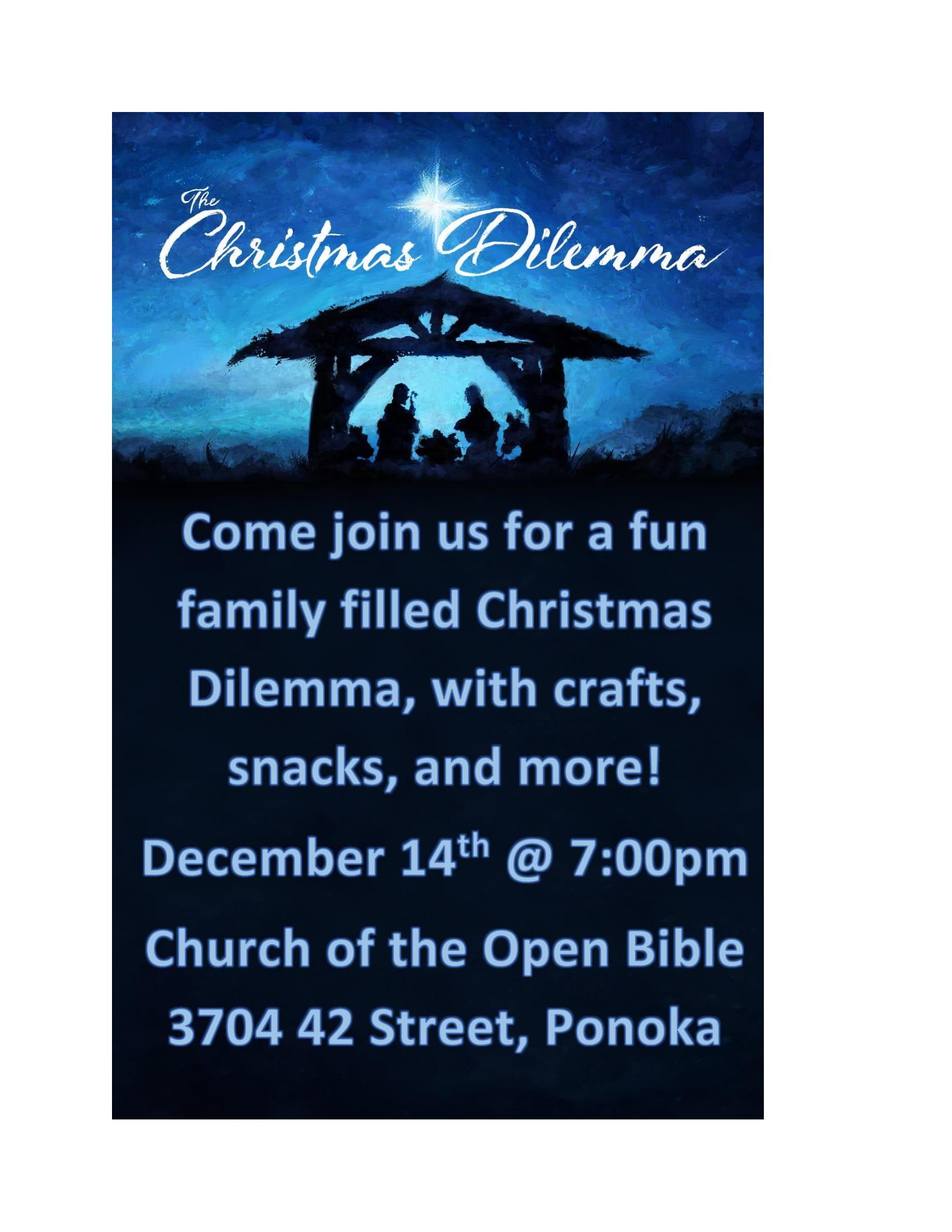 Christmas Dilemma Poster.Docx-1