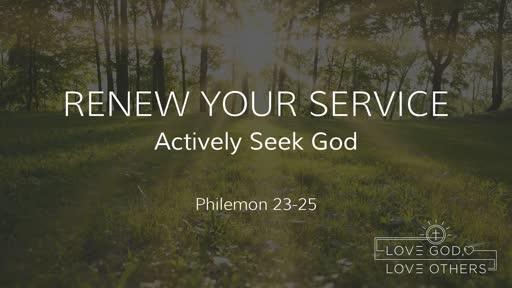 Renew Your Service