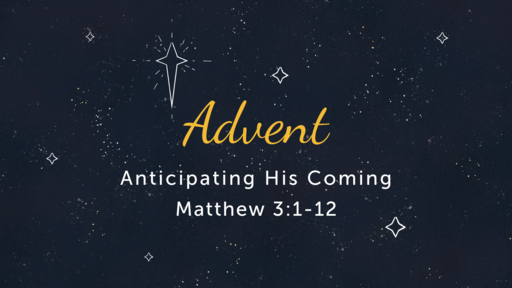 12/9: Advent- Anticipation_ Notes