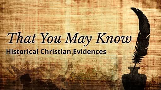 Historical Christian Evidences
