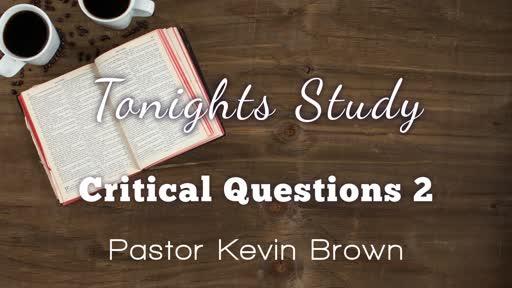 Critical Questions 2