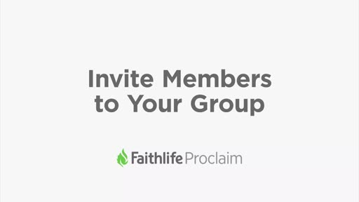 Invite Members To Your Group