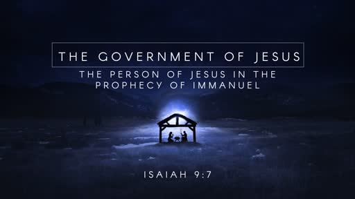 The Government of Jesus