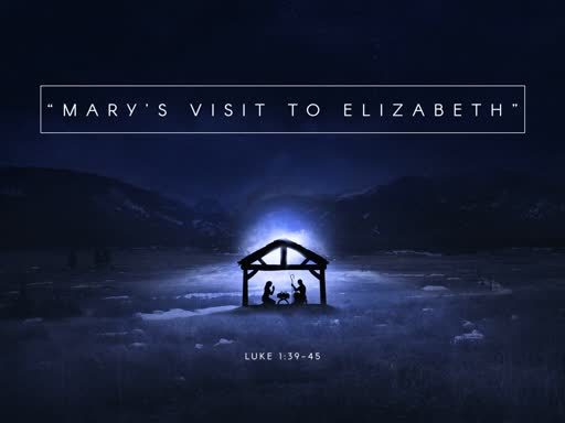 Mary's Visit to Elizabeth