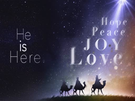 December 16, 2018 - Isaiah 61--He is Here: He is our Joy