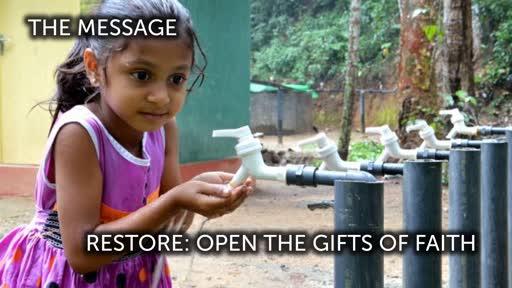 Restore: Open the Gifts of Faith - Dec 16th Worship Sermon, Prayers and Sending for South Meriden Trinity UMC