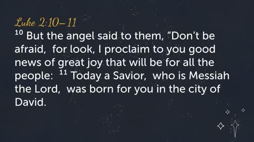 12/16 Advent- Joy