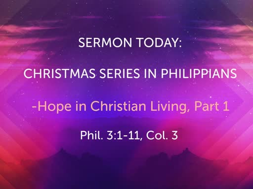 November Sunday Worship