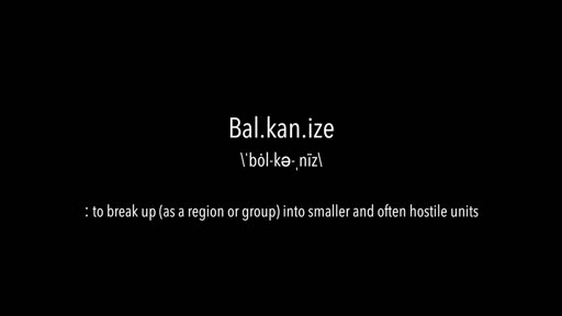 Update From The Balkans